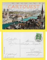 CPA Zurich Und Die Alpen 1909 - ZH Zurich
