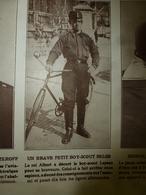 1914 LE MIROIR :Brave Petit Leysen Boy-Scout Belge;Résistance Belge Héroïque (Anvers,Liège,etc);Nos Braves Marocains;etc - Riviste & Giornali