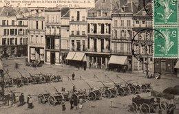 SAINT QUENTIN SOUVENIR DE LA GUERRE 1870 1871  PLACE HOTEL DE VILLE BATTERIE ALLEMANDE - Saint Quentin