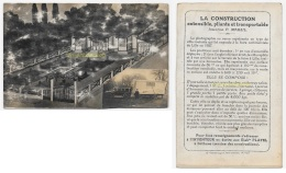 CPA 59 Foire De LILLE Carte Photo VILLA ROULANTE 1927 Maison Caravane Voiture - Lille