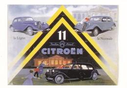 AUTOMOBILE CITROËN  11--traction Avant--publicité--( Reproduction D'affiche )---voir 2 Scans - Turismo