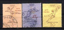 ITALIA TRIESTE OCC JUGOSLAVA ZONA B 1952 CANCELLED At - 7. Trieste