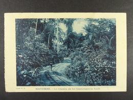 Mayumbe Le Chemin De Fer Traversant La Forêt - Autres