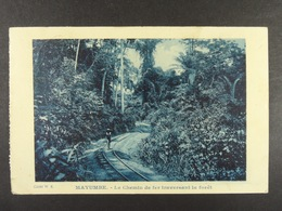 Mayumbe Le Chemin De Fer Traversant La Forêt - Congo - Kinshasa (ex Zaire)