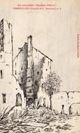 GERBEVILLER GUERRE 1914  1917 CROQUIS  DE L BANNELIER N° 6 - Gerbeviller