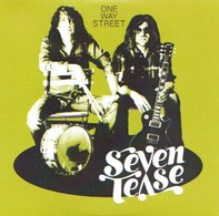SEVEN TEASE - One Way Street - CD - BLUES FUNK FM - Blues