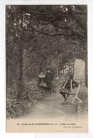 - CPA NOTRE-DAME-DE-ROCHEFORT (30) - L'Allée De Cyprès 1908 (avec Personnages) - Cliché D. 104 - - Rochefort-du-Gard