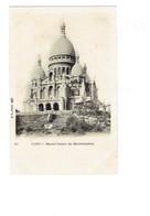Cpa -  Paris > Sacré Coeur De Montmartre - B.F. 103 - Travaux échafaudage - Sacré Coeur
