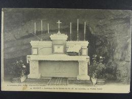 Sugny Intérieur De La Grotte De N-D De Lourdes Le Maître Autel - Vresse-sur-Semois