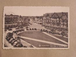 KNOCKE ZOUTE Place Albert Animée  Mer Zee  België Belgique Carte Postale Postcard - Knokke