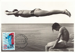D34768 CARTE MAXIMUM CARD FD 2013 NETHERLANDS - DIVING SWIMMING CP ORIGINAL - Swimming