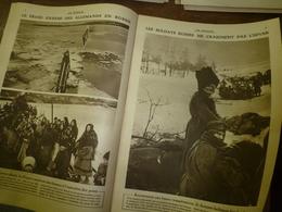 1915 LE MIROIR :Dans L'eau Glacée Les Femmes Russes Réparent Les Ponts;Italiens à  Vallona;Stroumitza;Foncqueviller;etc - Riviste & Giornali