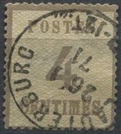 NDP Alsace-Lorraine, 4 Centimes, Michel 3 I, Gestempelt / O (2-137) - Alsace-Lorraine