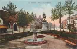 """. CPA FRANCE 59 """"Denain, Place De La Liberté"""" - Denain"""