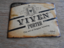 ETIQUETTE BIERE VIVEN PORTER - Beer