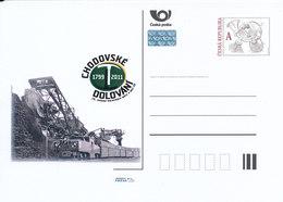 Rep. Ceca / Cart. Postali (Pre2011/41) Estrazione Di Chodov (1799-2011), XV. Incontro Di Città E Villaggi Minerari - Fabbriche E Imprese