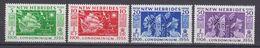 New Hebrides 1956 Discovery Of The Hebrides 4v ** Mnh (40297F) - Ongebruikt