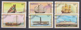 Philipinas 1984 Ships 6v Used (40297H) - Filippijnen