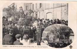 COGNAC FETE DES REINES DE MI CAREME 6 MARS 1910 CHAR DE CHANTECLER TBE - Cognac