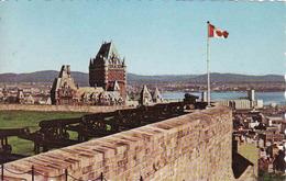 Canada, Quebec, From La Citadelle, Usage 1986 - Québec - La Citadelle