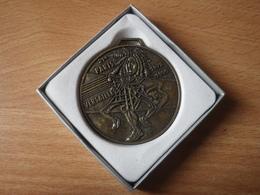 Médaille 21 Eme Course Paris Versailles ( 1976/1996) Texte De Arthus Bertrand Dans Sa Boite - Arthus Bertrand
