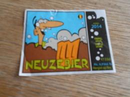 ETIQUETTE BIERE NEUZEBIER - Bière