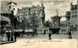 75018 Paris Montmartre Moulin Rouge Cpa N°11 Précurseur - Distrito: 18