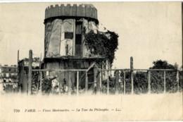 75018 PARIS MONTMARTRE Tour Du Philosophe Jolie Carte LL - Distrito: 18
