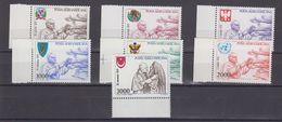 Vatican City 1980 Papal Journeys 7v (+margin) ** Mnh (40298A) - Vaticaanstad