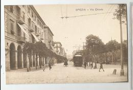 Italie Italy Italia  Spezia Via Chiodo Tram Tramway Ed Novi Ligure - La Spezia