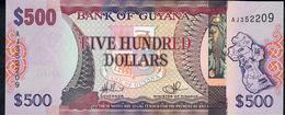 GUYANA P37 500 DOLLARS (2011) #AJ - Guyana