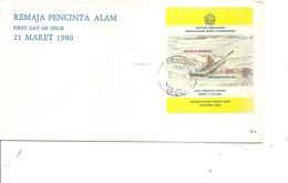 Rafting ( FDC D'Indonésie De 1981 Avec BF à Voir) - Rafting