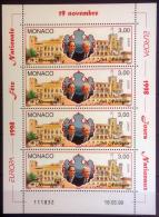 Monaco 1998 Unif.2169 Minisheet **/MNH VF - Blocs