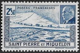 Saint Pierre Et Miquelon  1941 -   Y&T 211  -  Pétain - NEUF* - Ungebraucht