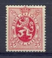 BELGIE - OBP Nr 282 - Heraldieke Leeuw -  MNH** - 1929-1937 Heraldic Lion