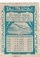 ESPAGNE - Timbre Vignette LAS PALMAS - Propaganda De Las Palmas - Collections