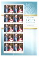 Australia 2018 HRH Prince Louis Of Cambridge Sheetlet MNH - 2010-... Elizabeth II