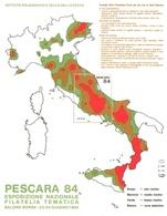 Francobolli Erinnofili IPZS Pescara 84 Prevenzione Terremoto - Erinnofilia