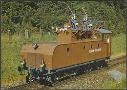 Erste Einphasenwechselstromlokomotive Der Welt - Kündig AK - Trains