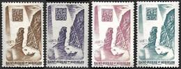 ST PIERRE ET MIQUELON  1947  -  YT 325 à 328    -Langlade -  NEUFS** - Ungebraucht
