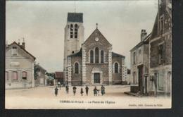 77, Combs La Ville, La Place De L'eglise - Combs La Ville