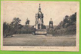BON-SECOURS - Le Monument De Jeanne D'Arc - Bonsecours