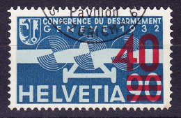 Flugpostmarke 1936 - Zu.#F24d Attest Renggli - Airmail