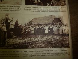 """1915 LE MIROIR : St-Mihiel;Mensonges Et Cinéma Allemand;Le """"cheval De Troie"""" Est Aussi RiverClyde;etc - Français"""