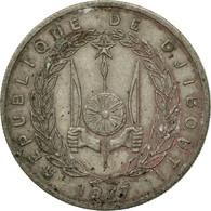 Monnaie, Djibouti, 50 Francs, 1977, Paris, TB+, Copper-nickel, KM:25 - Djibouti