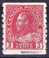 CANADA 1925 KGV 3c Carmine Die II SG 256b Fine Used - 1911-1935 Reign Of George V