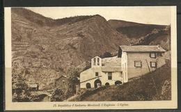 ANDORRA - JOAN SALA  Nº 23 POSTAL RECORTADA(F.23) - Andorra