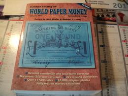 ARGUS DES BILLETS DE BANQUE MONDIAL EMISSIONS SPECIALES. 2002. EN ANGLAIS WORLD PAPER MONEY SPECIALIZED ISSUES. 9° EDIT - Books & Software
