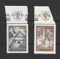 Croazia 1941 Esposizione Filatelica Di Zagabria Con Soprastampa In Oro. Serie Completa Nuova/mnh** - Croazia