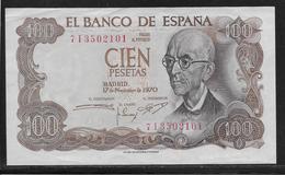 Espagne - 100 Pesetas  - Pick N° 152 - SUP - [ 4] 1975-… : Juan Carlos I